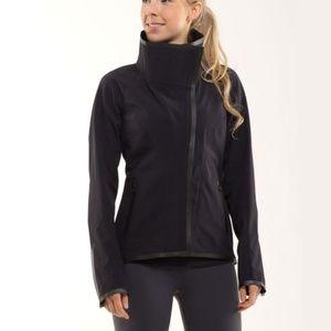 Lululemon Harmony Black Zip Up Softshell Jacket 6